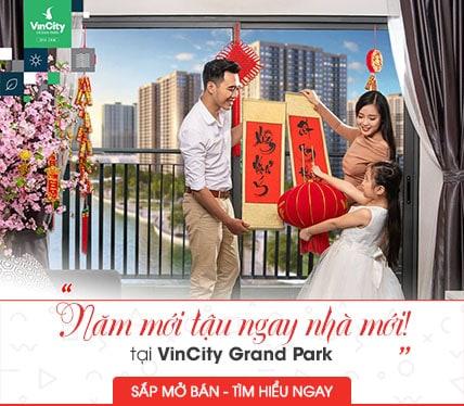 VinCity Grand Park quận 9 mở bán