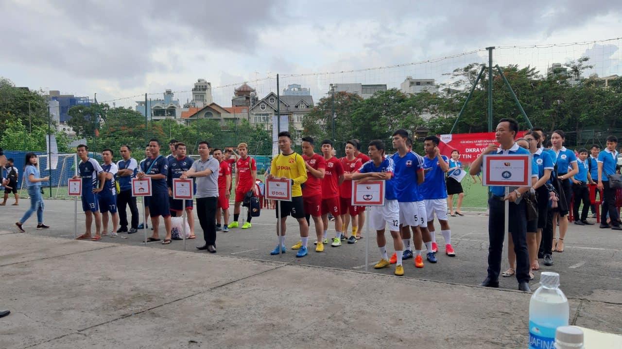 Đông Tây Land tham gia tranh tài giải bóng đá VARS CUP 2019 2