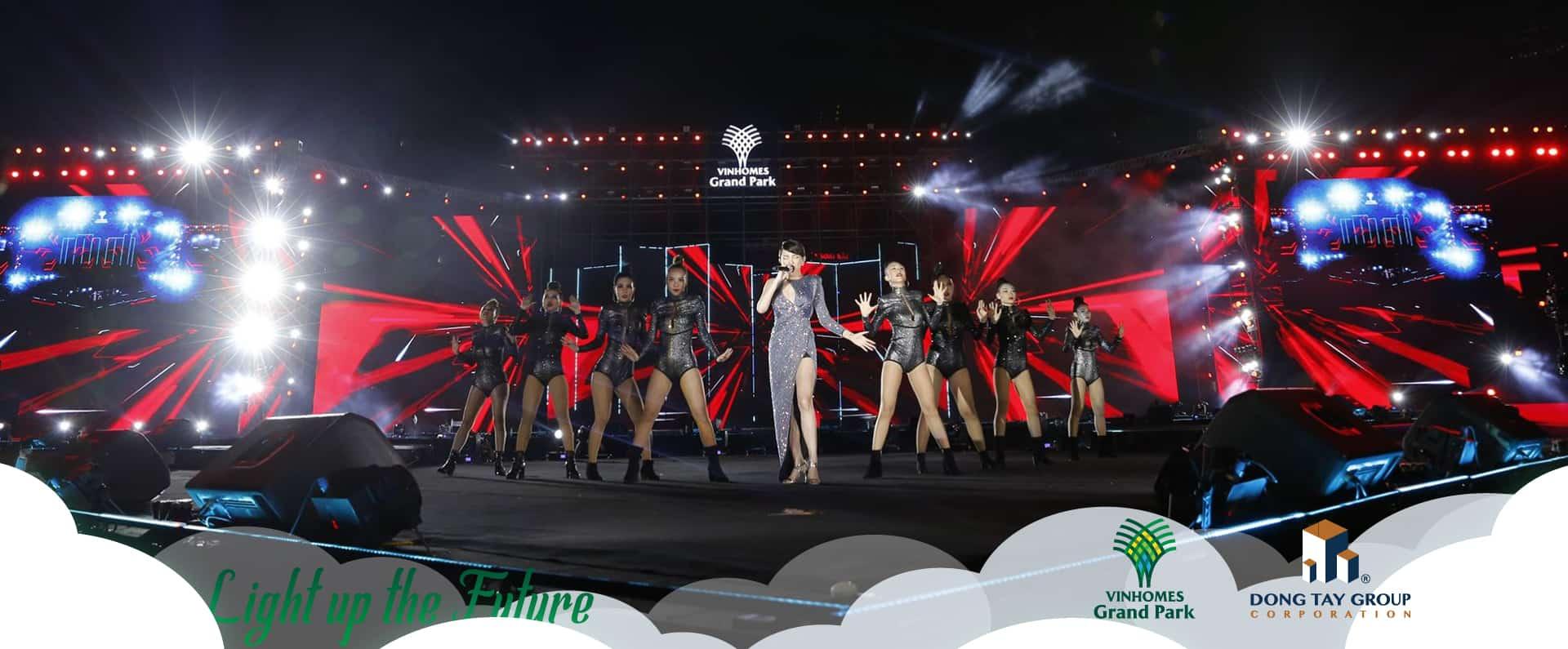 """Bùng nổ cảm xúc cùng Ngày hội """"Đại đô thị đẳng cấp Singapore"""" Vinhomes Grand Park – Light up the future 3"""