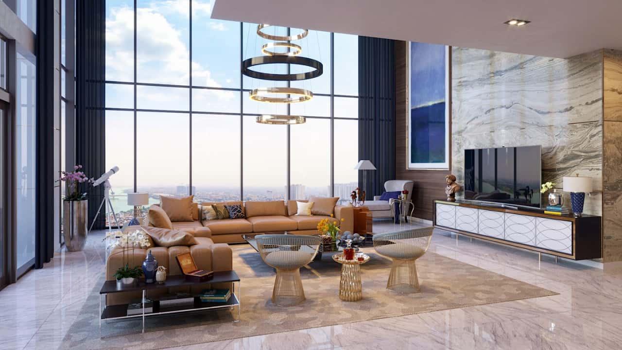 Thiết kế căn hộ dự án Sunshine Diamond River Sài Gòn Quận 7 – Resort [4.0 2