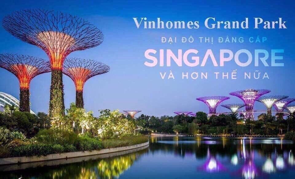 Công Viên Ánh Sáng Vinhomes Grand Park quy mô lớn nhất Đông Nam Á 1