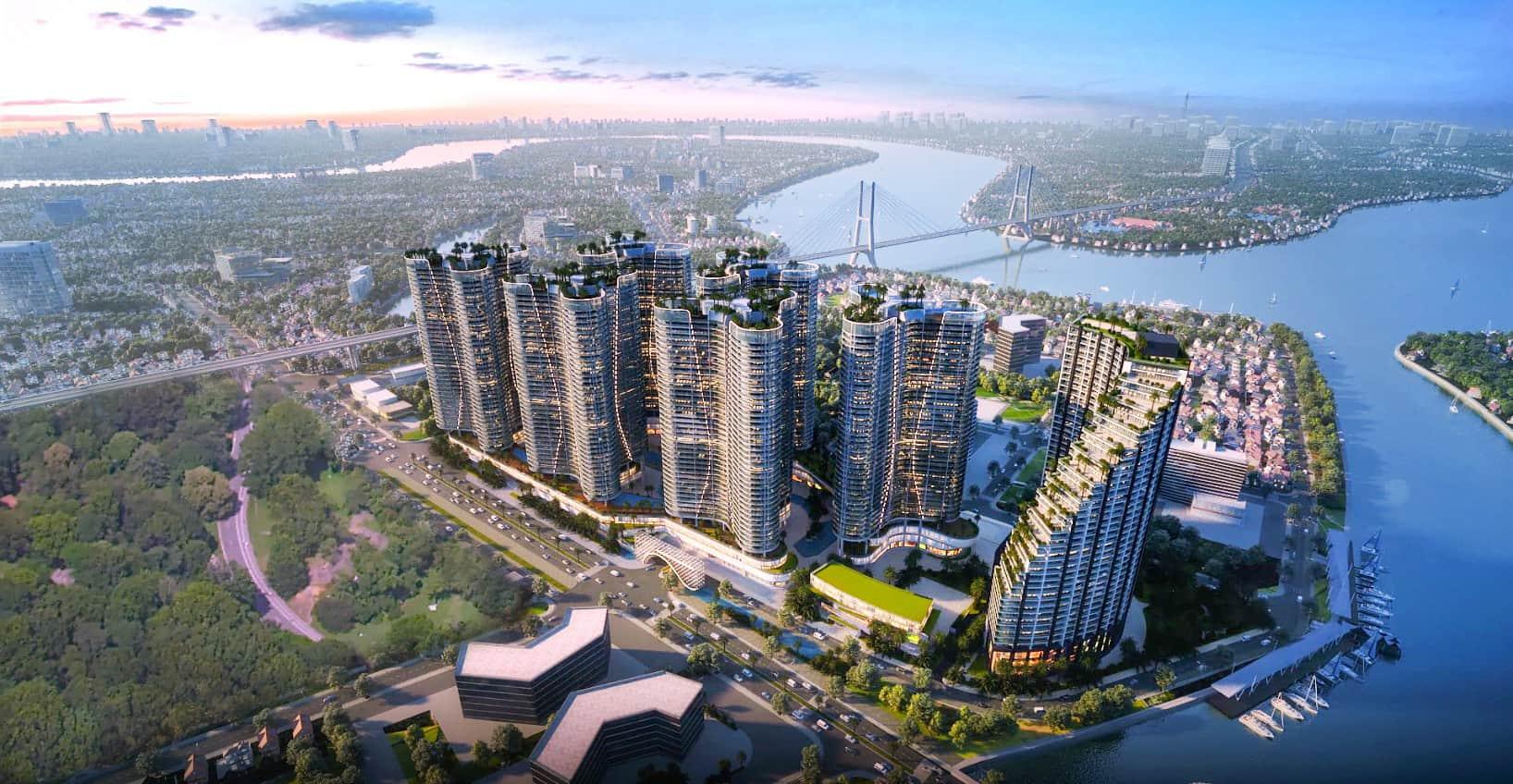 Dự án đang được triển khai Sunshine City Sài Gòn.
