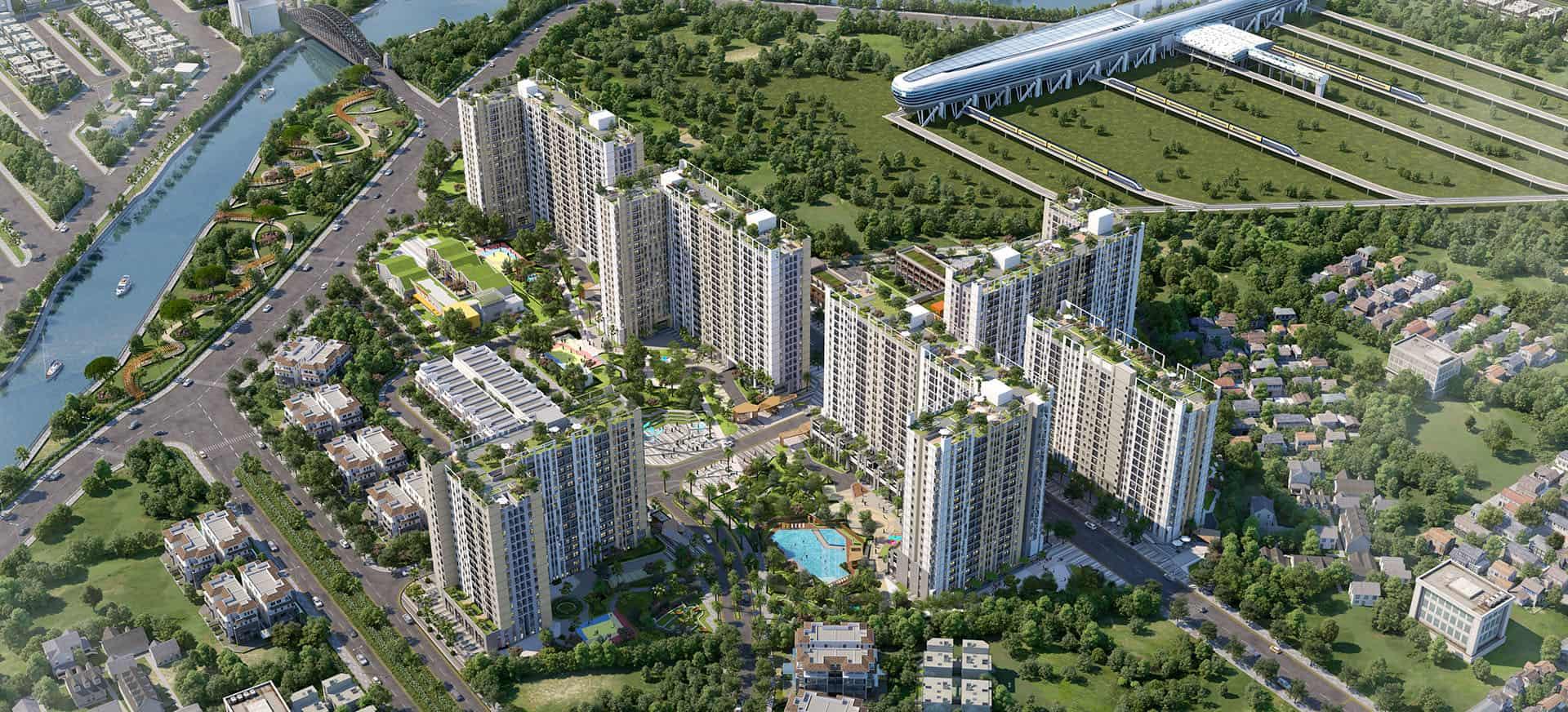 Picity High Park – Căn hộ chuẩn xanh Singapore dành cho cư dân trẻ thành đạt