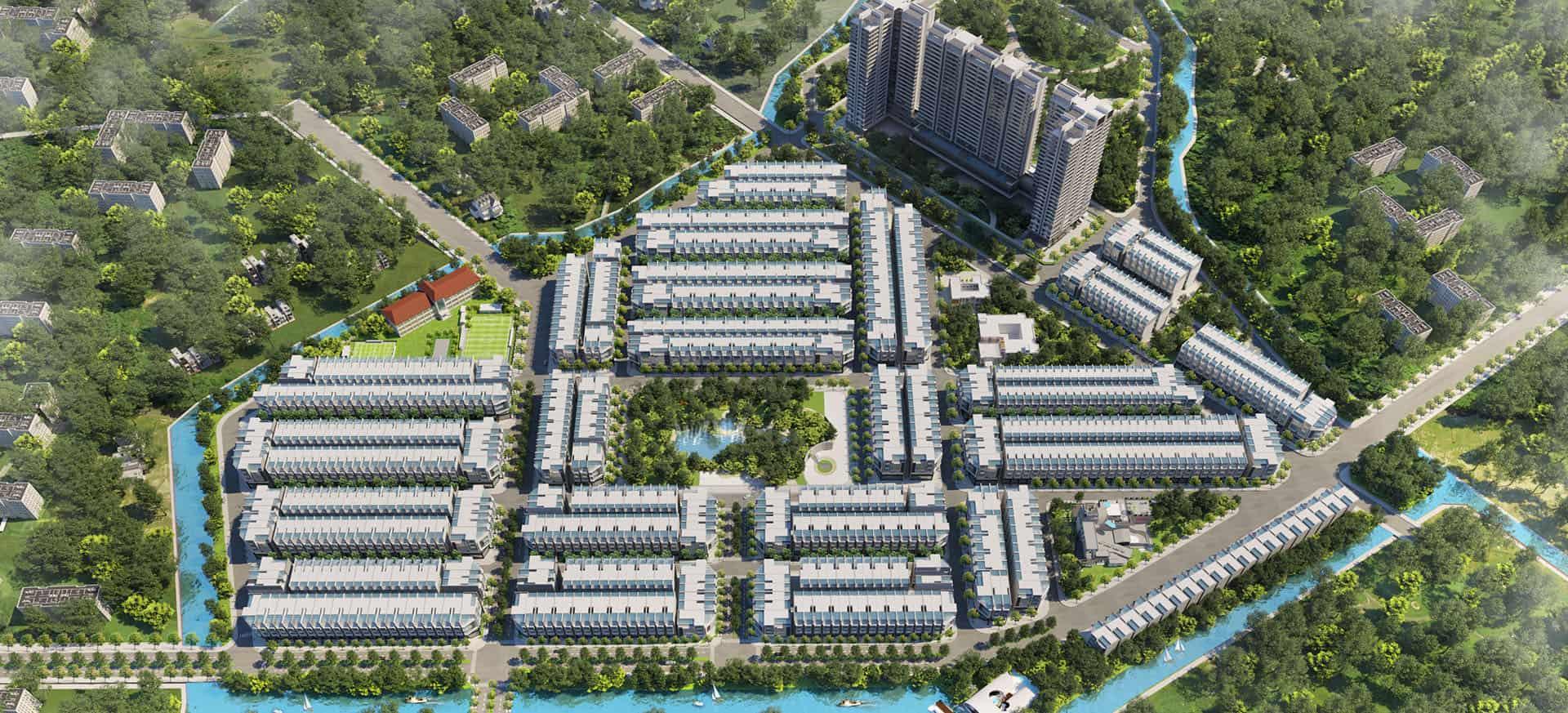 Qi Island – Ốc đảo đô thị kiểu mới tại thành phố Thuận An, Bình Dương
