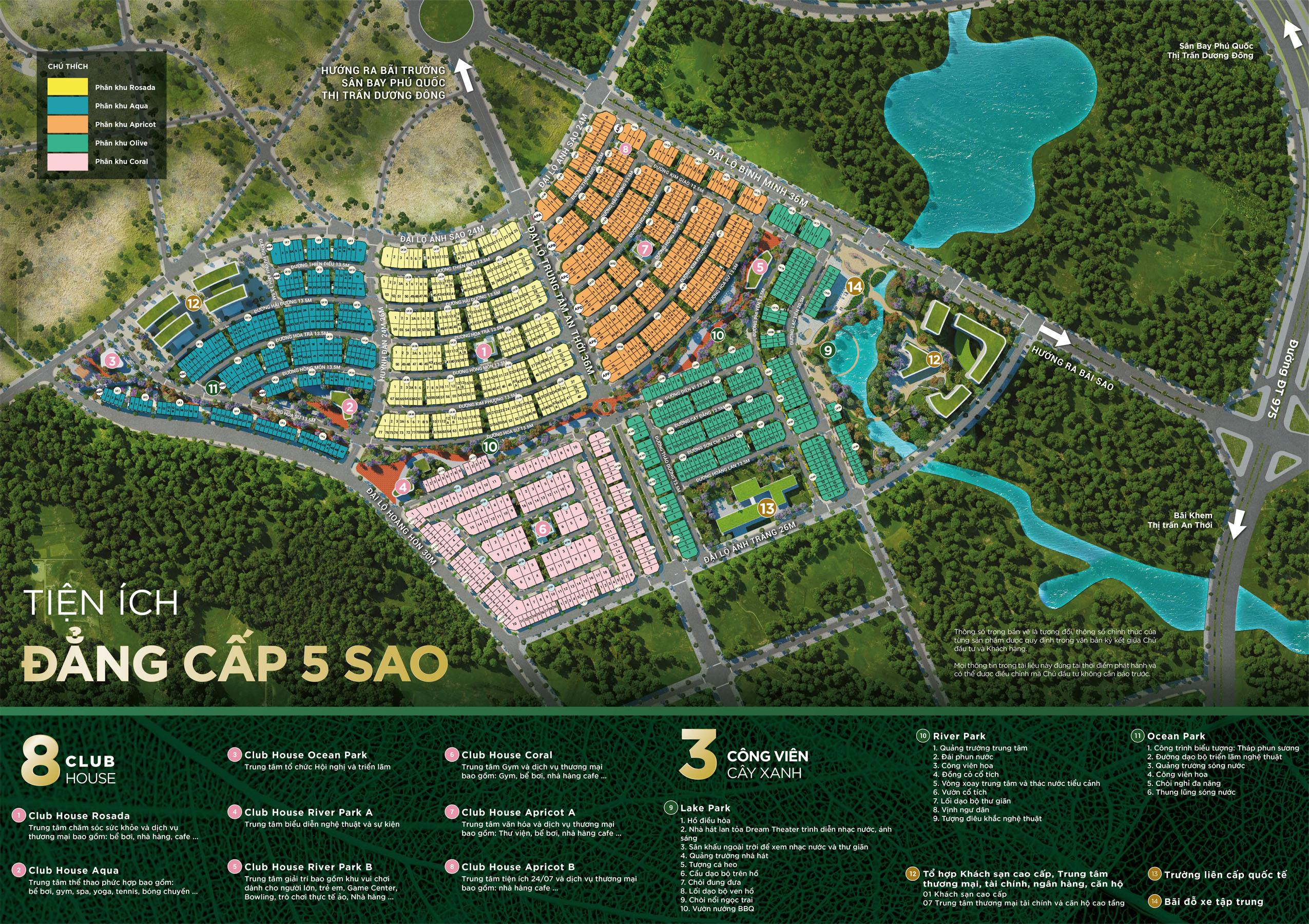 Mặt bằng tổng thể Meyhomes Capital Phú Quốc