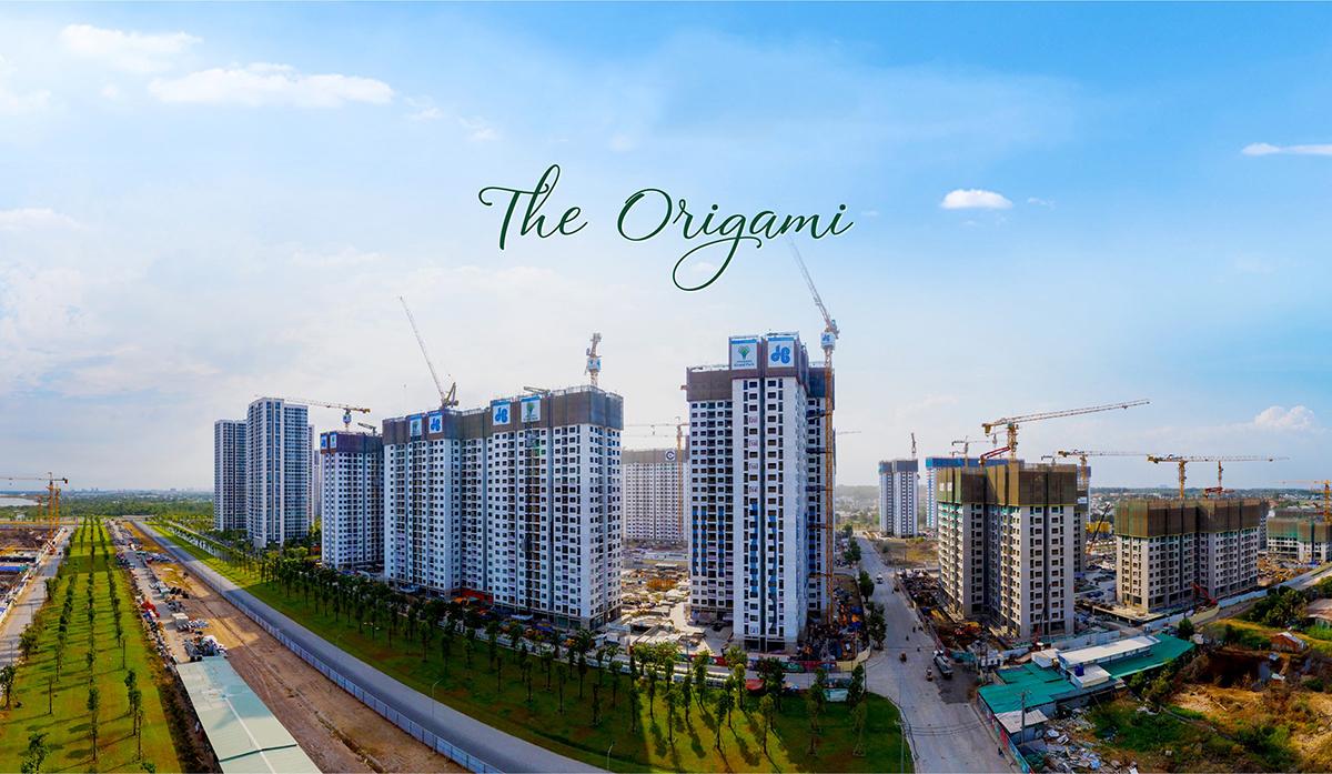 Tiến độ phân khu The Origami 2021