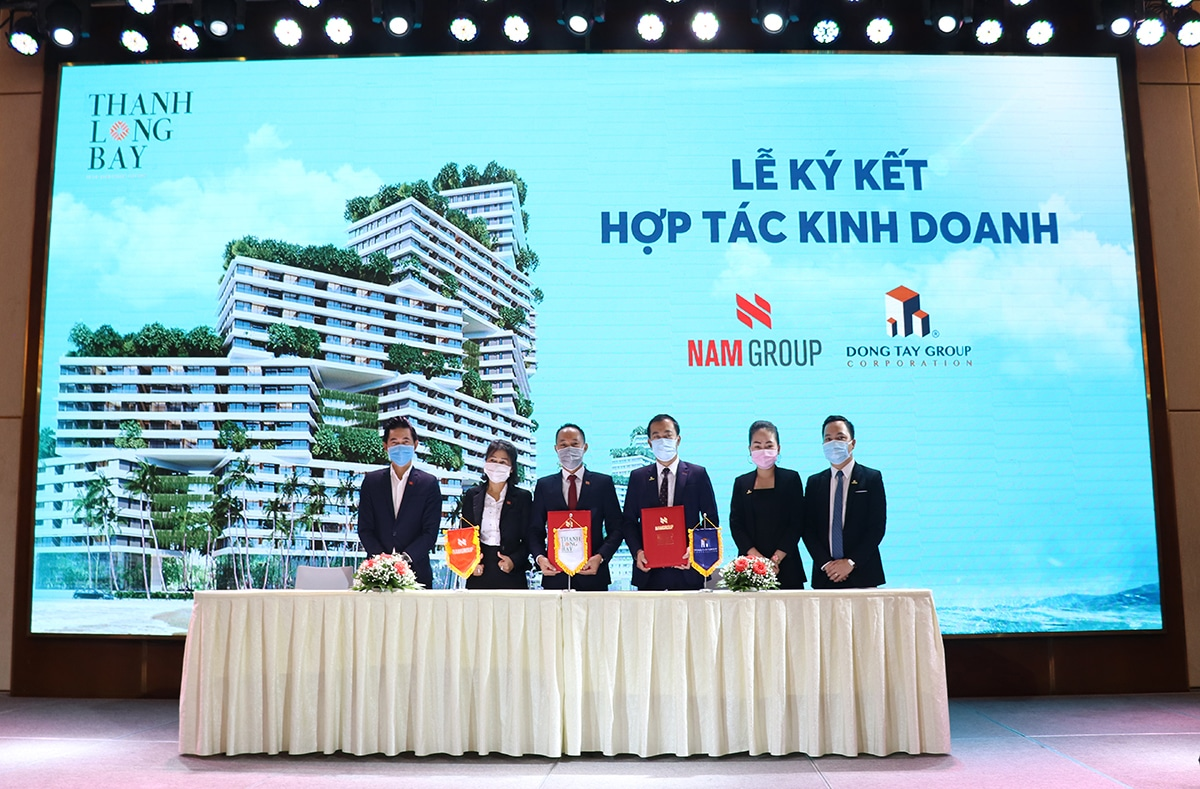 Đông Tây Group trở thành tổng đại lý phân phối Thanh Long Bay
