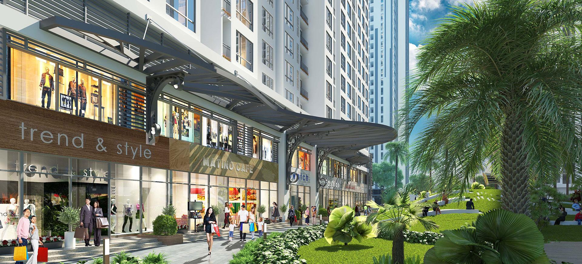Shop khối đế Vinhomes Grand Park – Tài sản không thể thiếu của nhà đầu tư