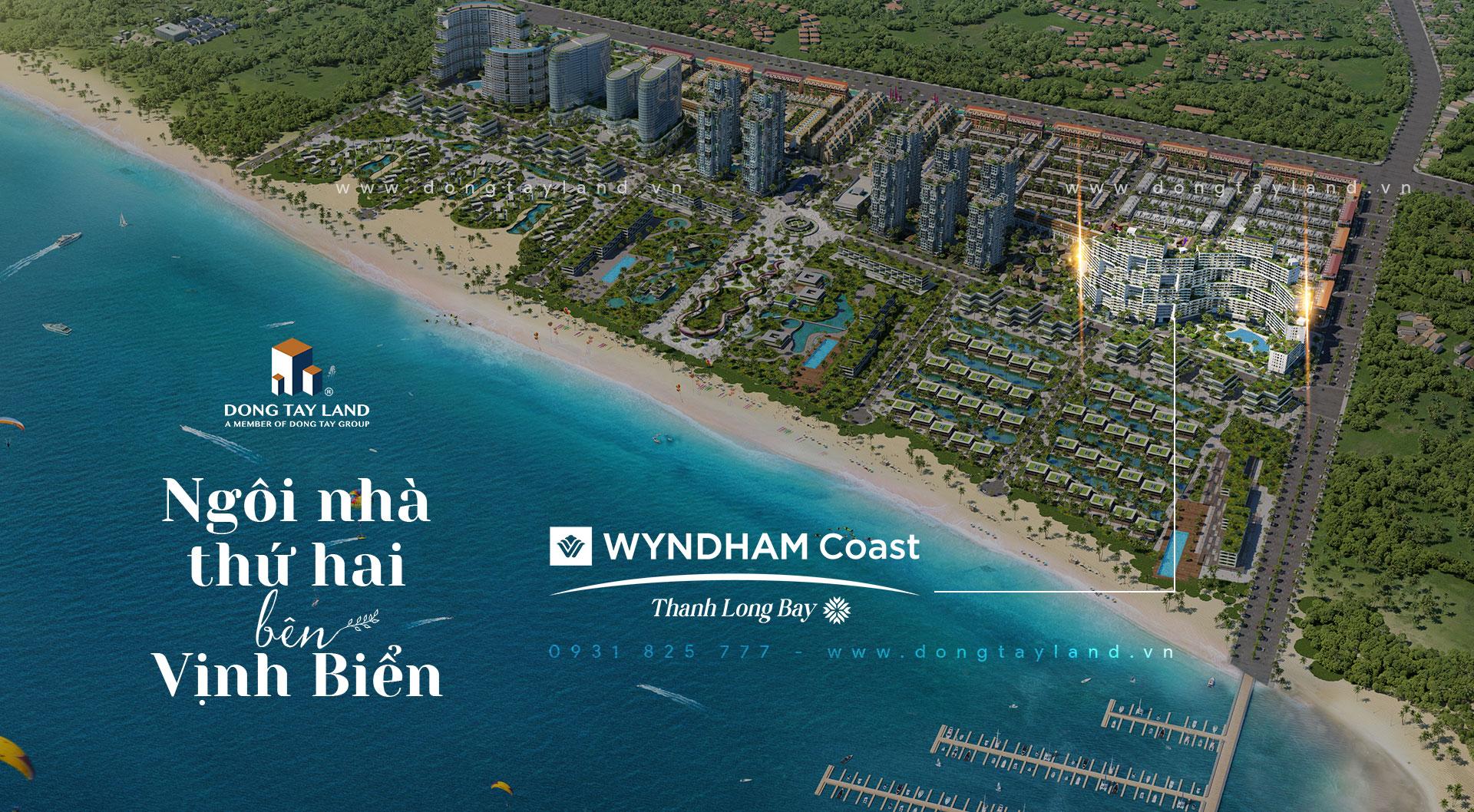 Tòa căn hộ view biển Wyndham Coast - Thanh Long Bay
