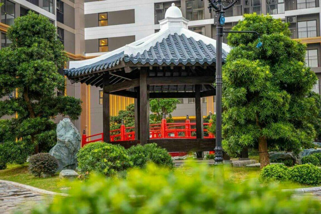 Vườn Nhật The Origami - Vinhomes Grand Park 1