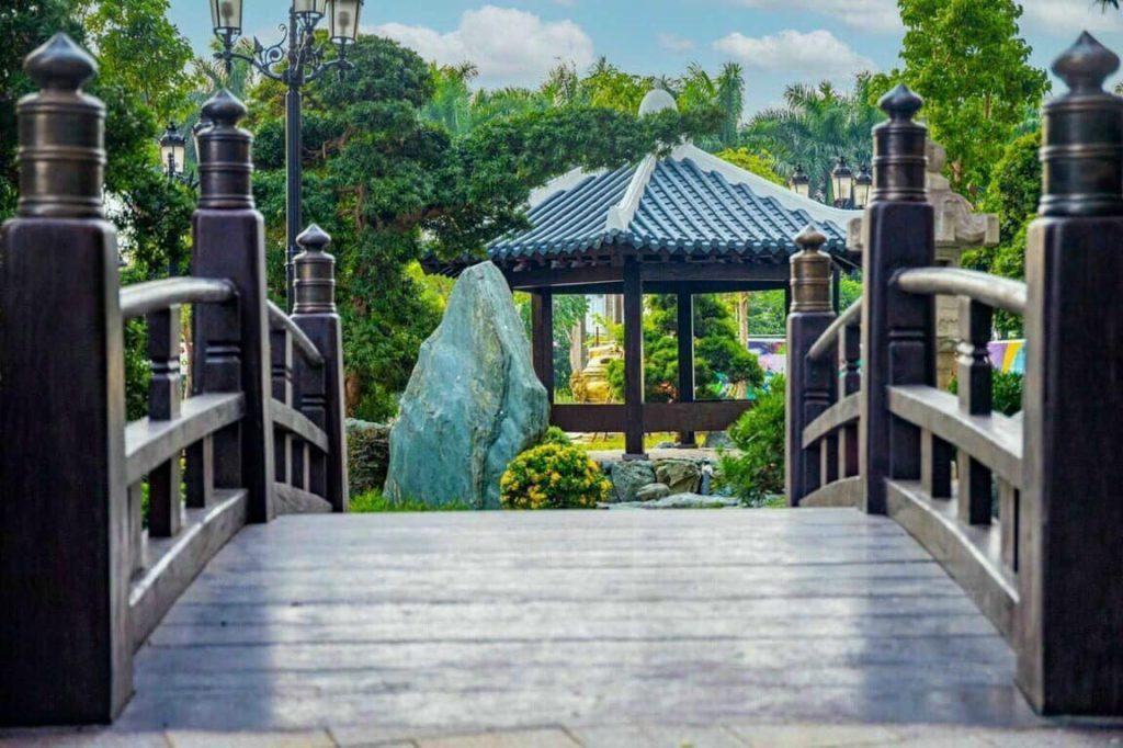 Vườn Nhật The Origami - Vinhomes Grand Park 2