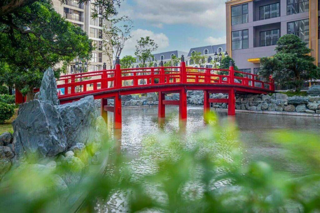 Vườn Nhật The Origami - Vinhomes Grand Park 3