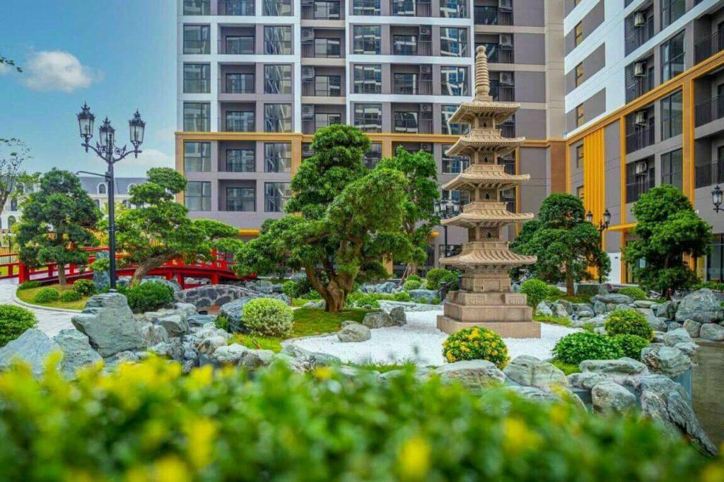 Vườn Nhật The Origami - Vinhomes Grand Park 4