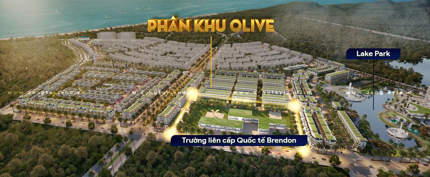 Trường liên cấp quốc tế Brendon - Phân khu Olive Meyhomes Capital Phú QuốcQu