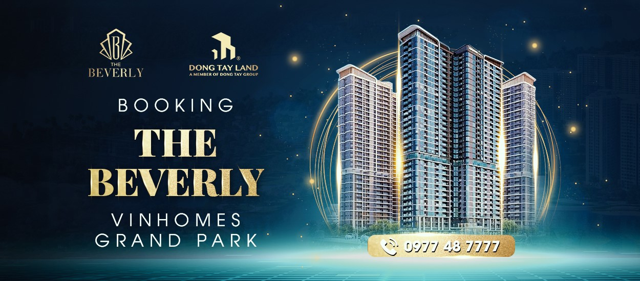 Booking The Beverly Vinhomes Grand Park