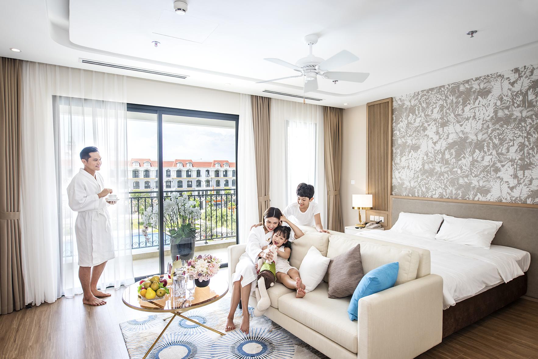"""Căn hộ """"3 tối giản"""" VinHolidays Phú Quốc bắt sóng nhà đầu tư giai đoạn hậu Covid"""