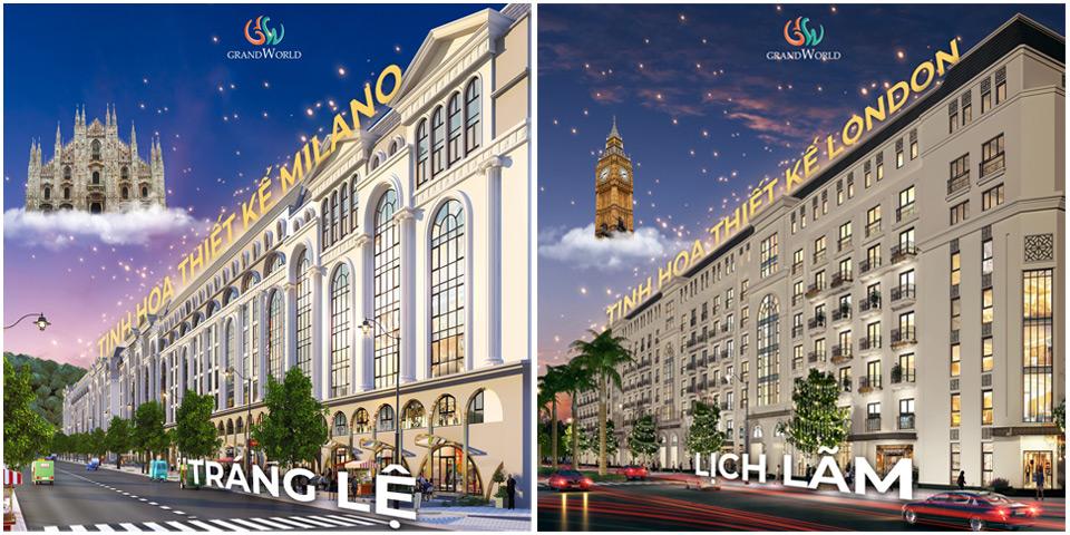 Phong cách xây dựng Boutique Hotel Grand World Phú Quốc