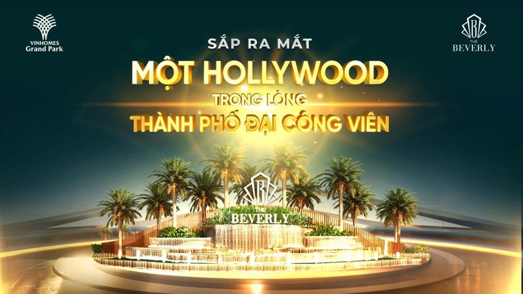 Sắp ra mắt một Hollywood trong lòng thành phố đại công viên