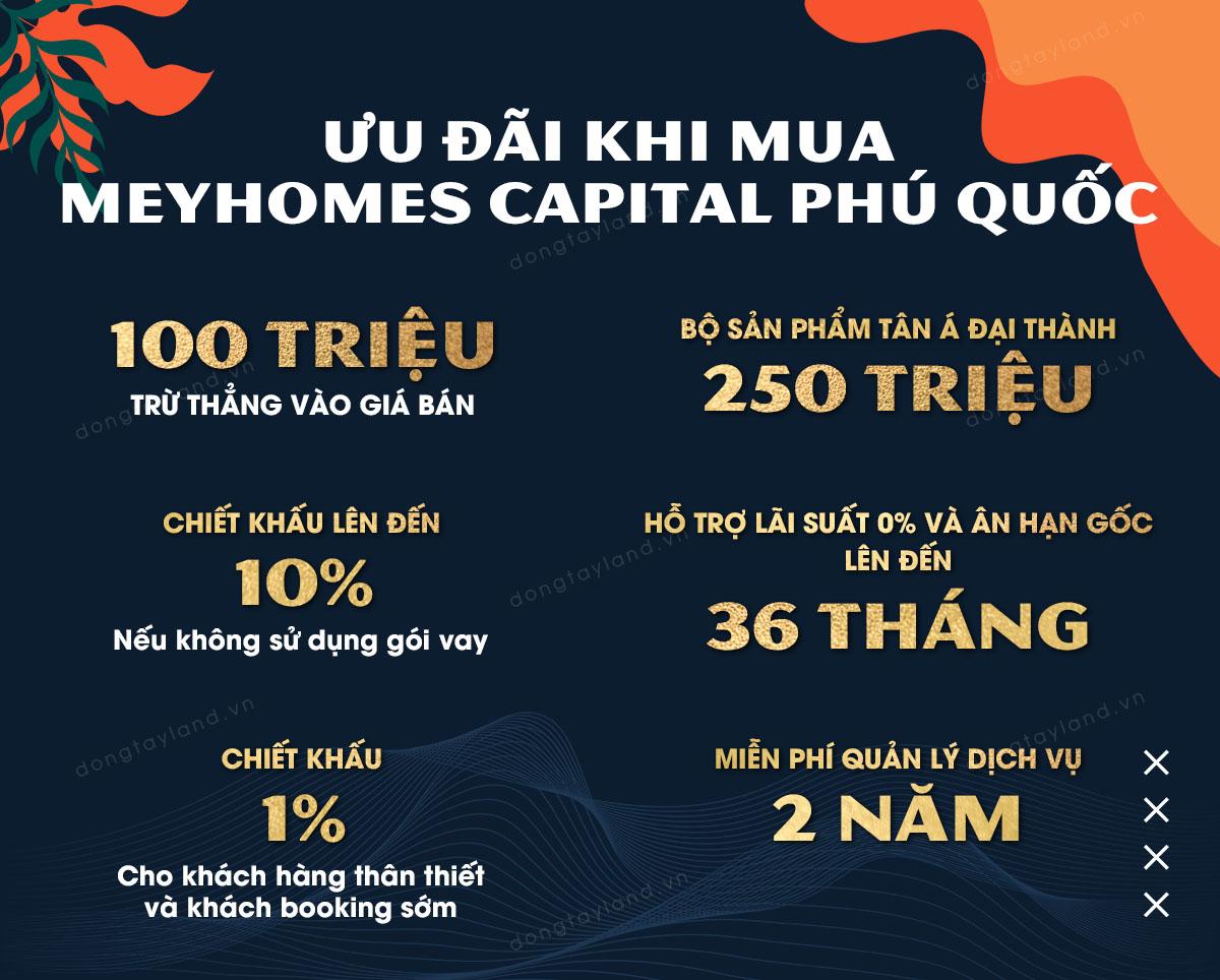 Ưu đãi khi mua Meyhomes Capital Phú Quốc